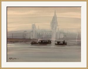 泰晤士河之晨 #8