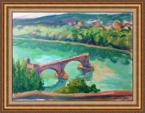 法國阿維濃斷橋