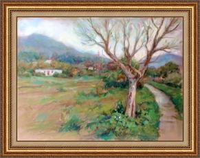 心景平靜 (油畫)