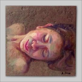 頭像 (瓷畫)
