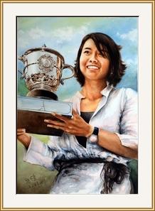 網球高手李娜