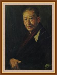 我的導師 - 李鐵夫 - 油畫
