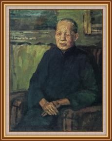 母親 - 油畫