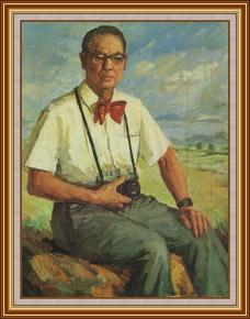 胡雄德醫生 - 油畫