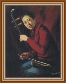 餘音嬝嬝 - 油畫