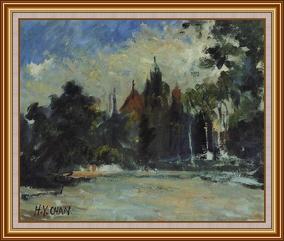 多倫多大學 - 油畫