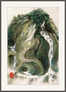 高山流水地成河