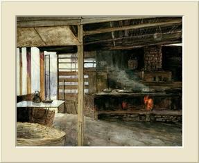 小 店 的 廚 房  (Acrylic)