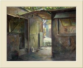 等待 (Oil Painting )