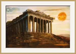 雅典_巴特農神殿