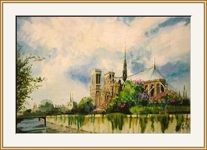 巴黎_法國聖母院