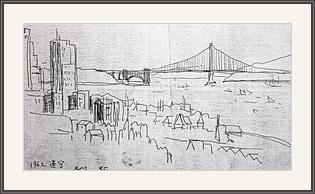 金門橋橋速寫