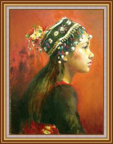 原住民女孩