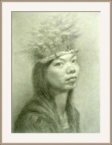 原住民姑娘
