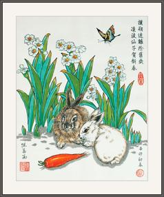 兔年仙子賀新歲