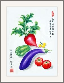 瓜菜之味勝八珍 素食有益福壽長