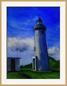 藍嶼與燈塔