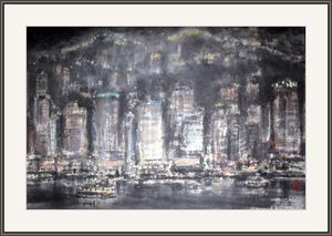 夜香港之一
