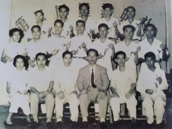 1955年香港美專第二屆畢業典禮