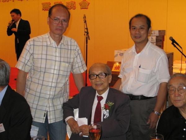 27-9-2008與校長攝於香港演藝界慶祝中華人民共和國成立五十九週年聯歡晚會