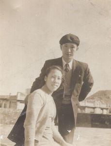 陳海鷹和雷耐梅